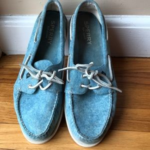 Other - Sperry Chambray Top Side Deck Shoes - nice! sz 13